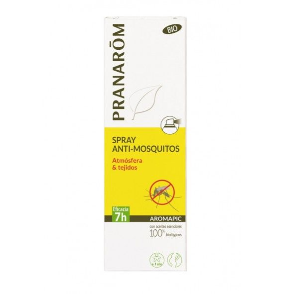 Pranarôm Aromapic spray anti-mosquitos atmósfera & tejidos100 ml