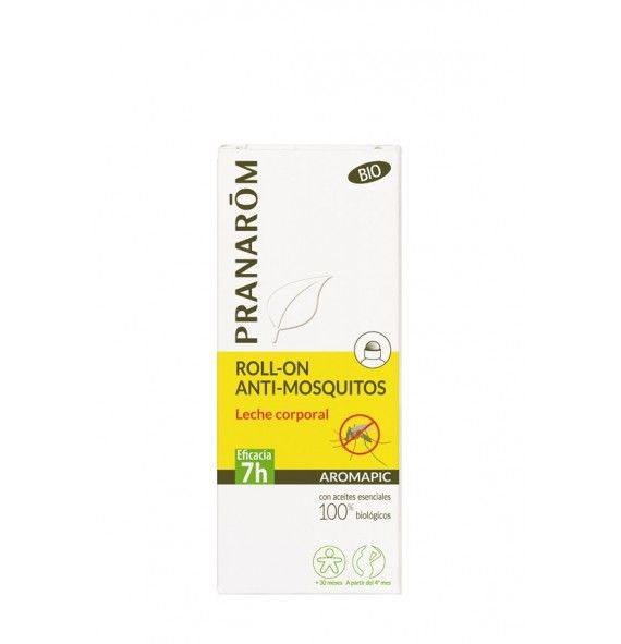 Pranarôm Aromapic leche roll-on anti-mosquitos 75 ml