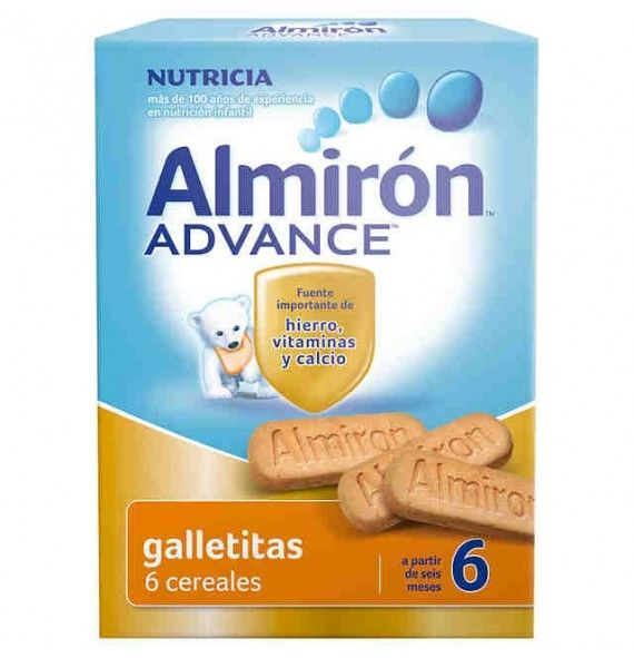 Almirón Advance galletitas 6 cereales