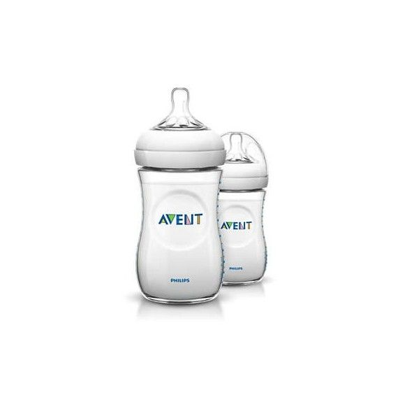 Avent Philips Biberón natural 260 ml 2 u