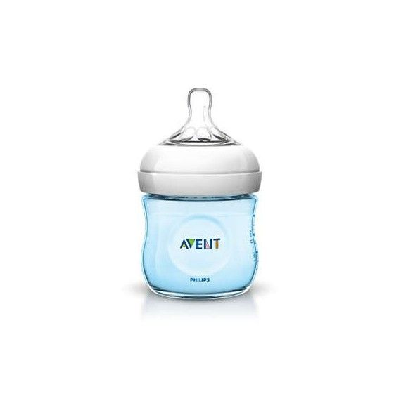 Avent Philips Biberón natural azul 125 ml