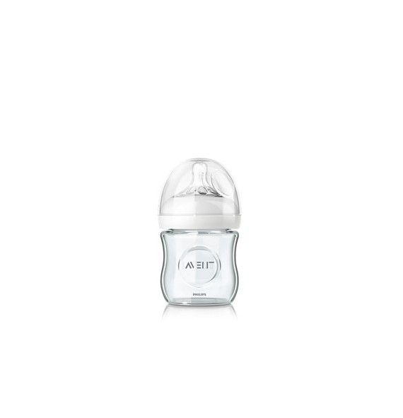 Avent  Philips Biberón natural cristal 120 ml