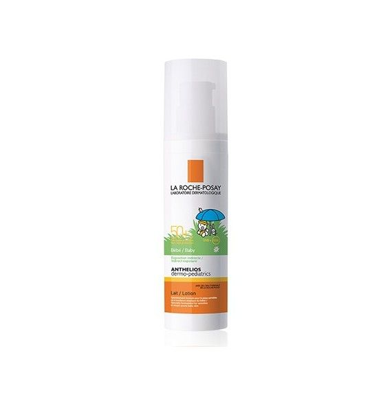 Anthelios baby dermopediatrics SPF 50 + leche bebe 50 ml