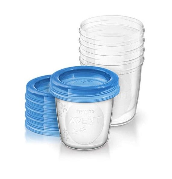 Avent Via 5 vasos + 5 tapas 180ml