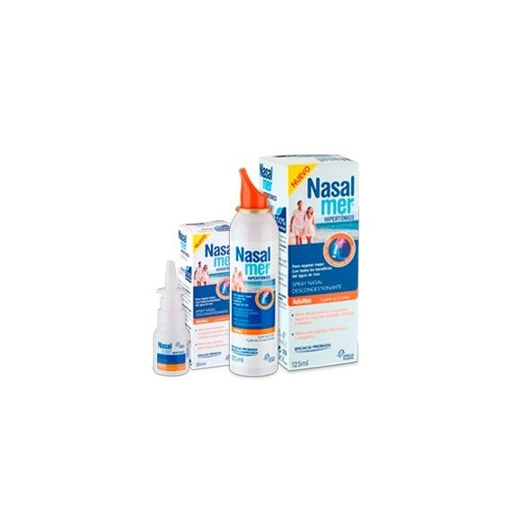 Nasalmer spray Hipertónico Adultos 125 ml