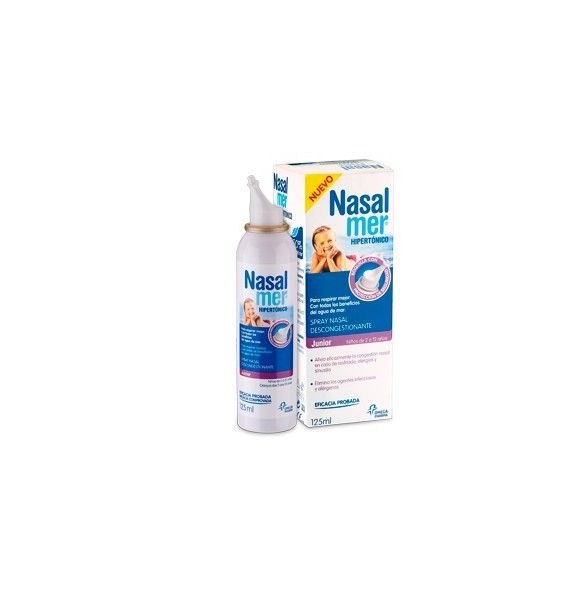 Nasalmer spray Hipertónico junior 125 ml