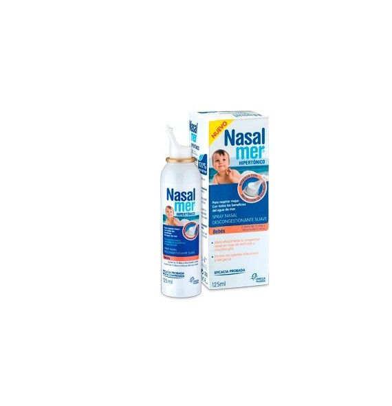 Nasalmer spray Hipertónico Bebés 125 ml