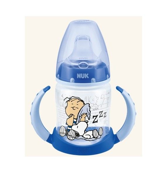 Nuk Biberón entrena First choice Snoopy 150 ml