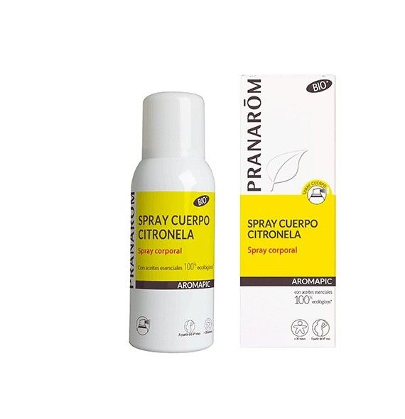 Pranarôm Aromapic spray corporal citronela anti-mosquitos 75 ml