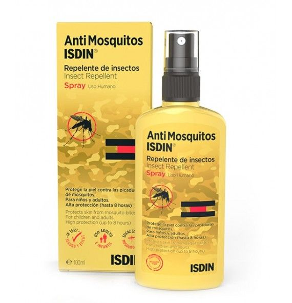 AntiMosquitos Isdin spray 20% 100 ml