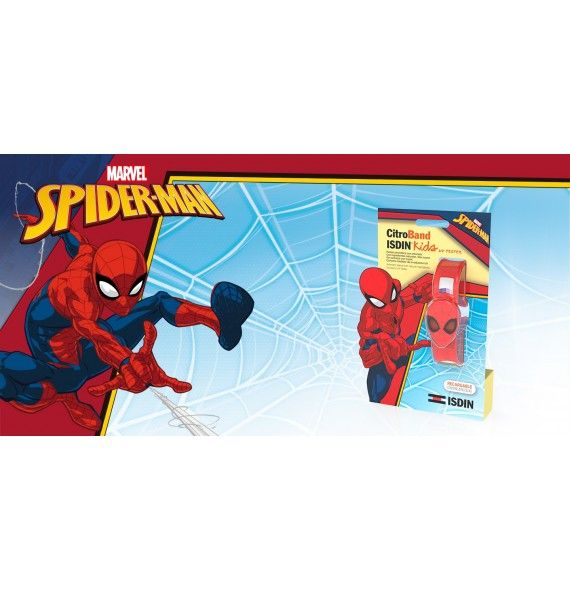 CitroBand Isdin Kids + Tester UV Spiderman
