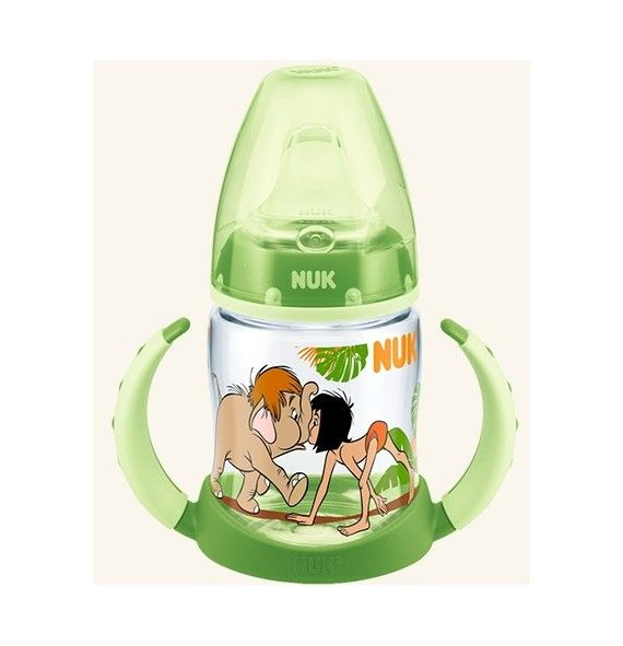Nuk Biberón entrena First choice Jungle Book 150ml