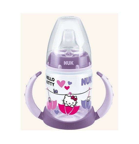 Nuk Biberón entrena First Choice Hello Kitty 150ml