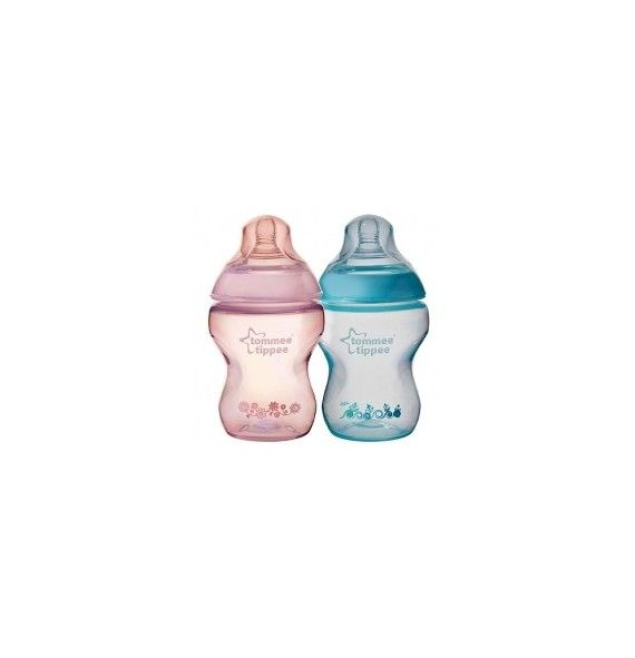 Tommee Tippee pack 2 Biberón decorados 260ml