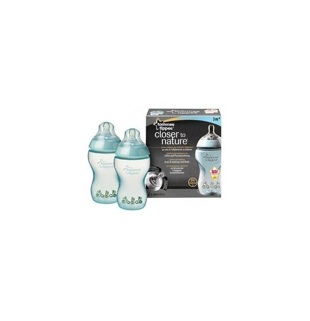 Tommee Tippee pack 2 Biberón decorados 340ml